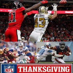 saints vs falcons thanksgiving nfl